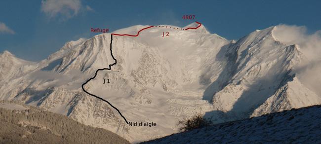 Voie Normale Du Mont Blanc