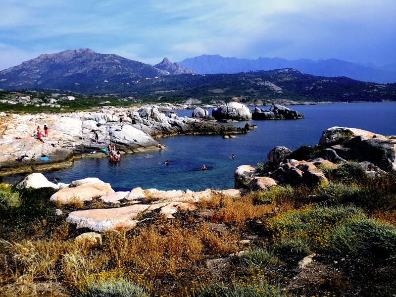 La Pointe De Spanu Lumio La Corse