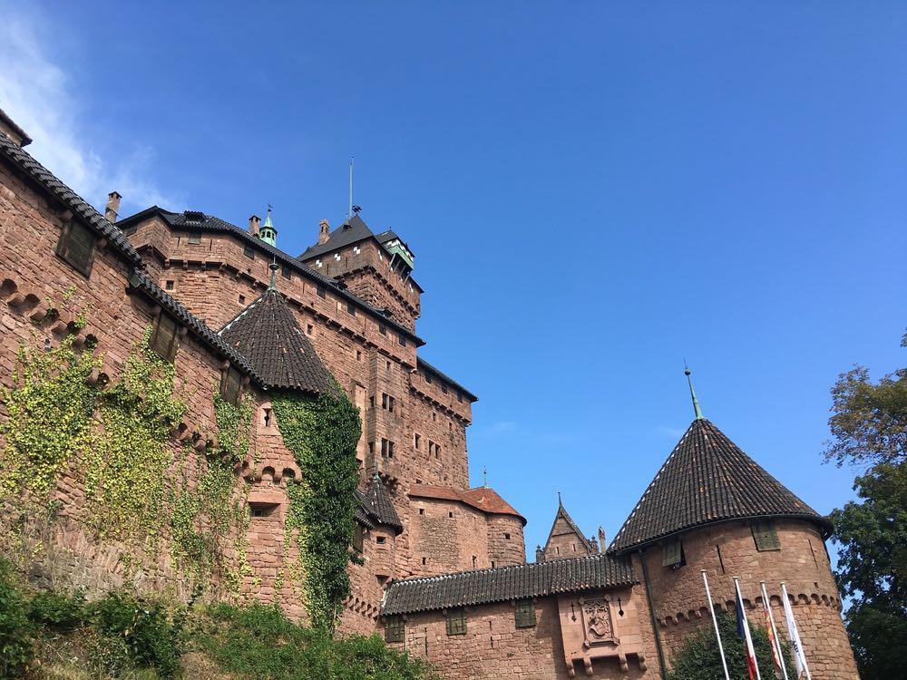 Le Haut-Koenigsbourg en Alsace
