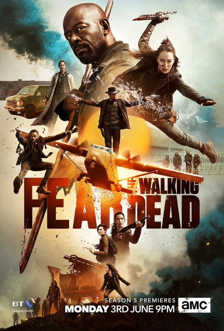 locandina fear the walking dead 5