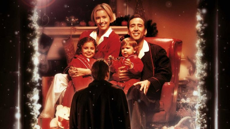 Nicolas Cage e Téa Leoni in The Family Man (2000)