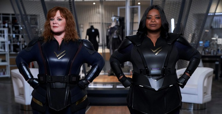 Melissa McCarthy e Octavia Spencer in Thunder Force (2021)