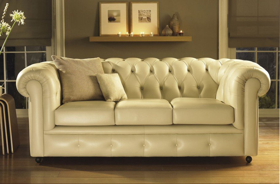Beige Leather Sofa Color Loccie Better Homes Gardens Ideas