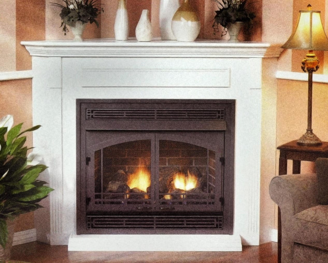 Ventless Gas Fireplace Loccie Better Homes Gardens Ideas
