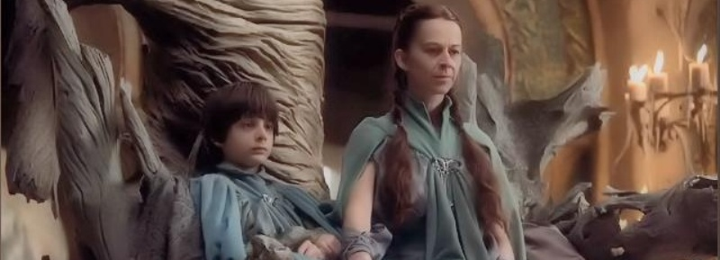 Lysa Arryn and son