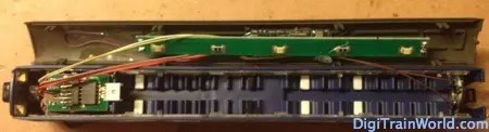 Dapol ND-112A, ESU Loksound Micro v4.0, led board