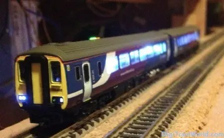 Dapol ND-112A, ESU Loksound Micro v4.0, Tams FD-R Basic Railcom