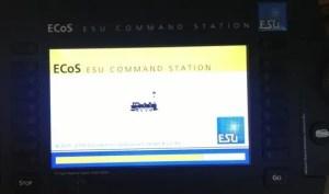 ESU ECoS II - écran de démarrage