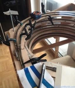 Rampe hélicoïdale échelle N