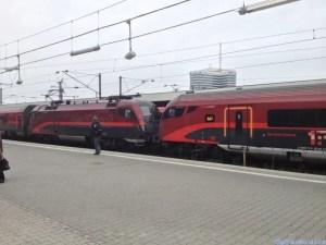 Railjet at Munich train station