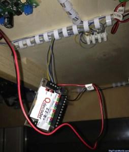 Qdecoder Z2-8+ in test position under my layout