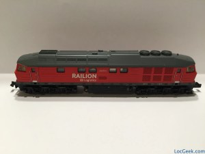 Locomotive Brawa Ludmilla Railion 61004