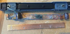 Minitrix 12793 - ICE 3 custom lighting board with FH05A decoder