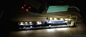 Minitrix 12793 - ICE 3 testing the led boards
