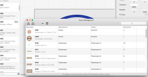 RailModeller Pro pour Mac en test - Gestion du stock