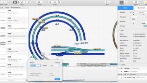 RailModeller Pro pour Mac en test - Pentes