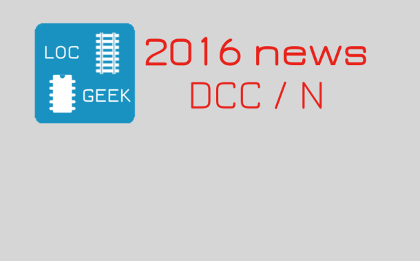 Digital model railroading: 2016 news roundup