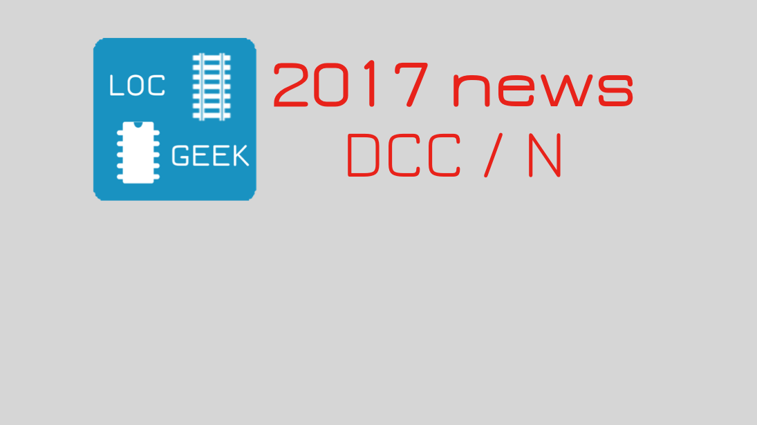Digital model railroading: 2017 news roundup