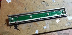 Arnold ES88 DCC conversion - LED board for interior lighting