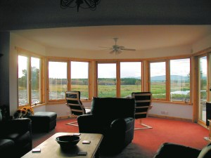 Lochan Cottage lounge