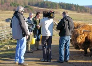 Marco Pierre White on Balnafettach Farm