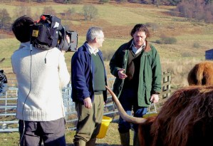 Marco Pierre White on Balnafettach Farm