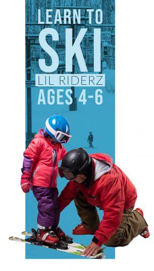 Lil Riderz Ski Lesson (Ages 4-6)