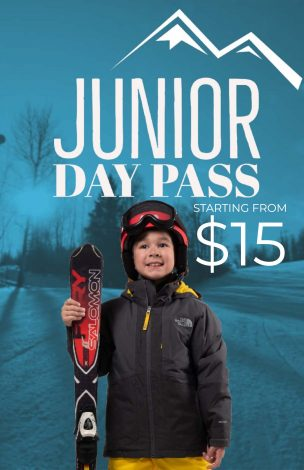 JUNIOR Day Pass