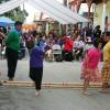 Sinagtala Filipino bamboo pole dancers
