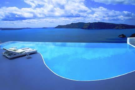 Infinity Pool, Greece Honeymoon