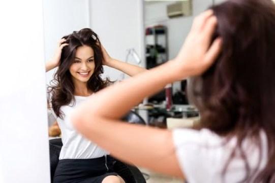 Neueste Technologie mit einem Haartrockner