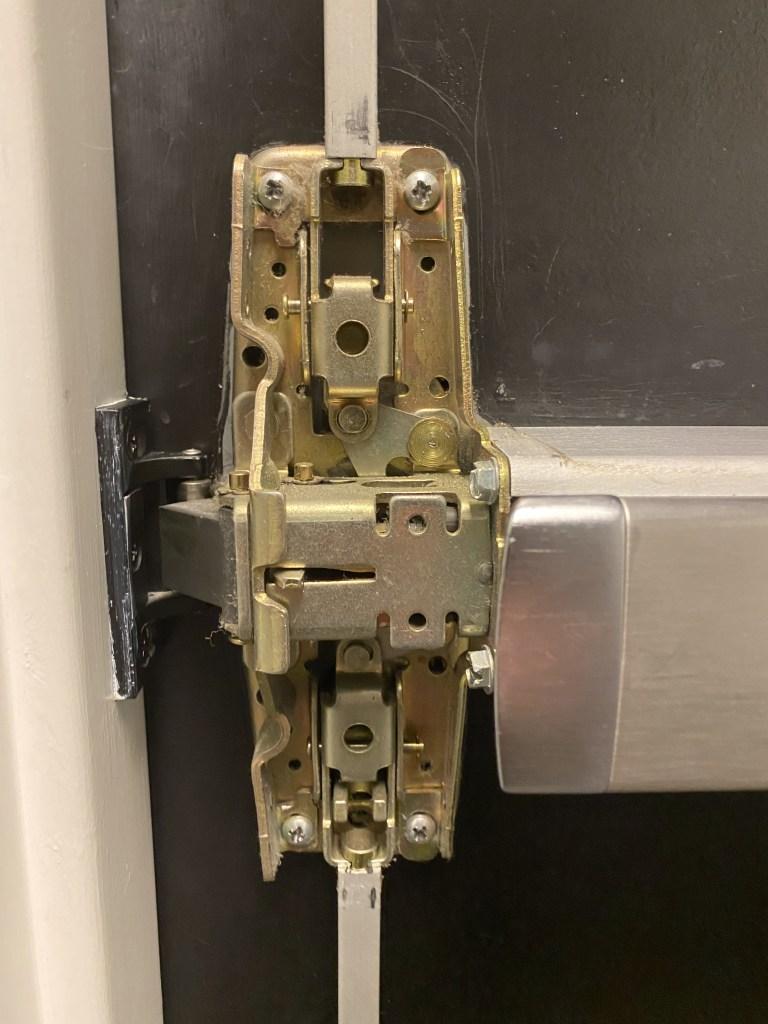 Mounting Screws Reinstalled on Main Case Unit
