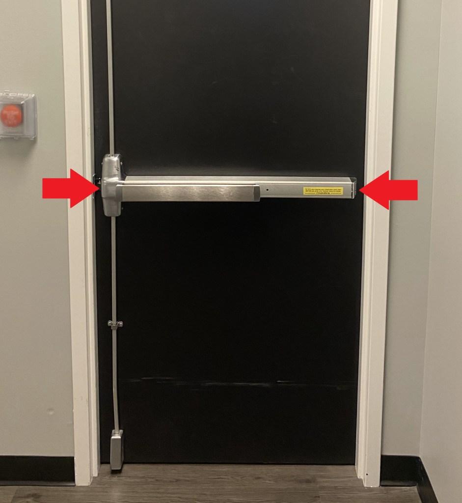 Von Duprin 9857 Main Case Unit Cover and End Cap