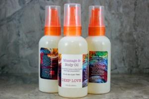 Deep Love Massage & Body Oil