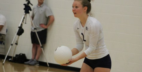 Volleyball: Loudoun County Senior Rebecca Frey Tabbed November 2017 Teammate of the Month