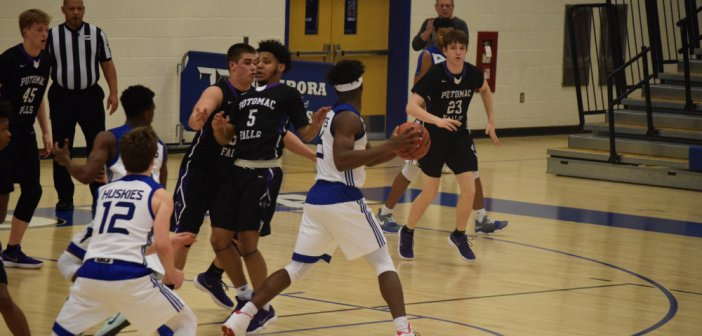 Boys Basketball: Tuscarora Fends Off Potomac Falls in Potomac District Battle