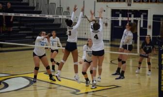 Olivia Mallow Hannah Prendergast Loudoun County Volleyball