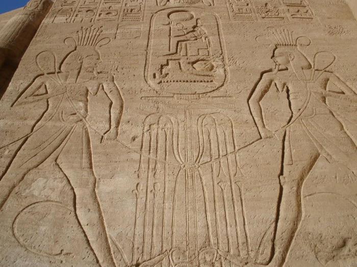 Egipto: Templo de Ramsés II en Abu Simbel