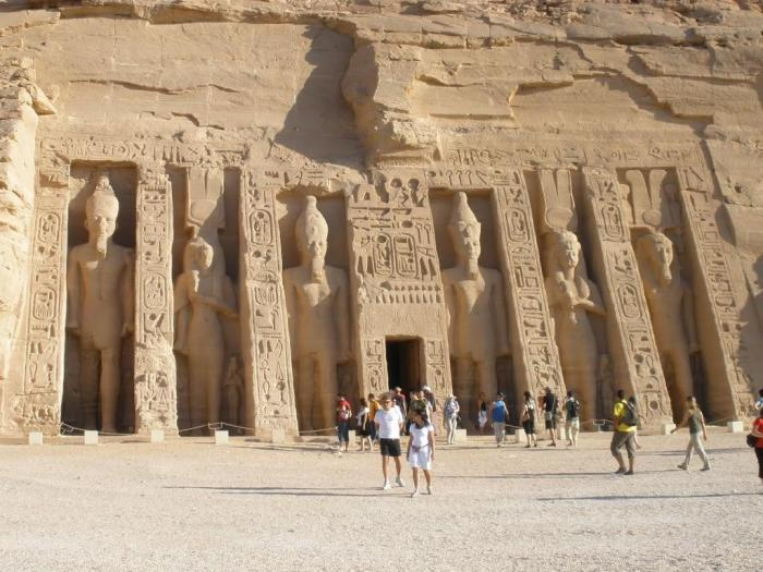 Egipto: Templo de Hathor en Abu Simbel