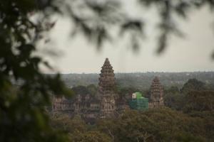 Atardecer en Angkor