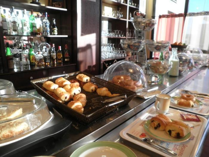 Desayuno del Ibis Valladolid