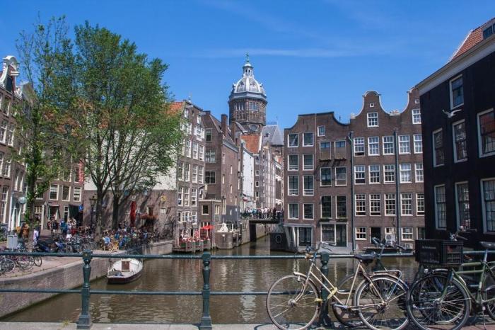 Canal de Ámsterdam