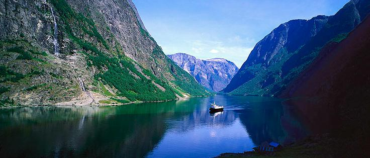 Fiordo noruego de Turismo de Noruega