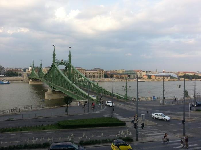 Puente de la Libertad en Budapest