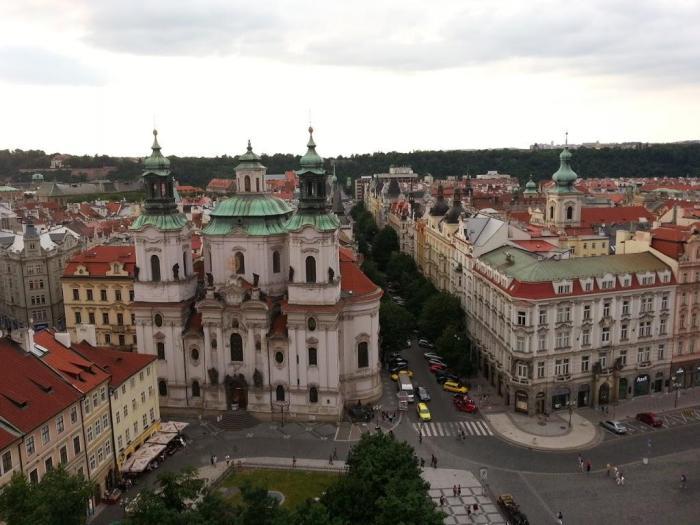 Iglesia de San Nicolás en Praga