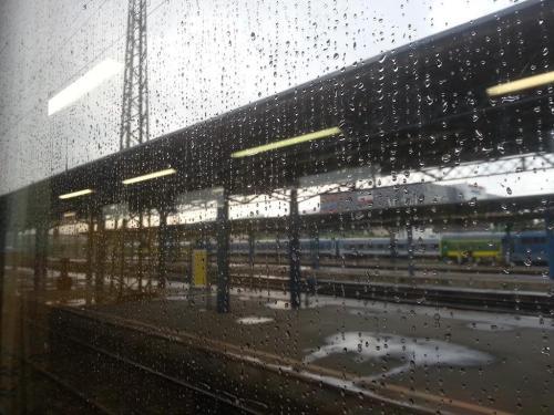 En el tren