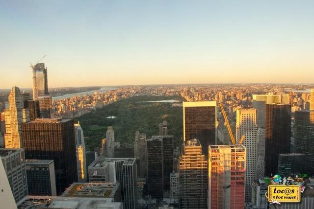 Vistas de Central Park desde el TOP
