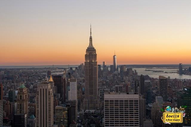 Atardecer desde el Top of the Rock