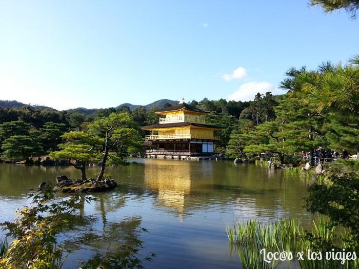Templo Dorado o Kinkaku-ji de Kioto