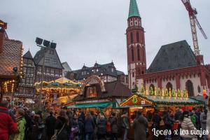 Mercados de Navidad de Fráncfort y Heildeberg con 23 meses